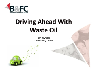 Biofuels for Diesel Engines