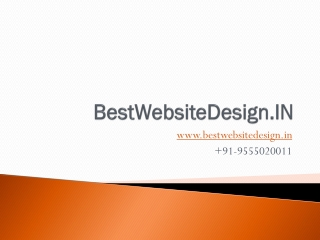 How to find a best website designing company in delhi