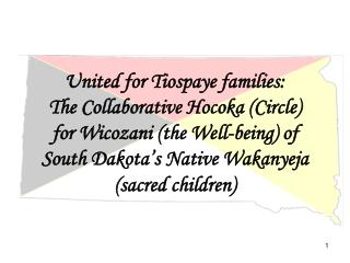 United for Tiospaye families: The Collaborative Hocoka Circle for Wicozani the Well-being of  South Dakota s Native Waka