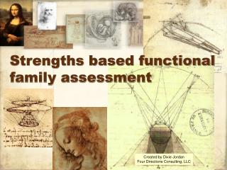 Strengths based functional family assessment