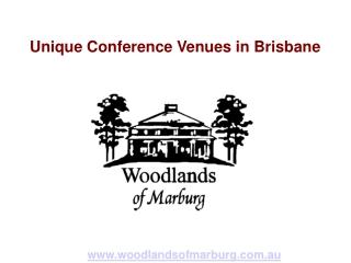 Unique Conference Venues in Brisbane