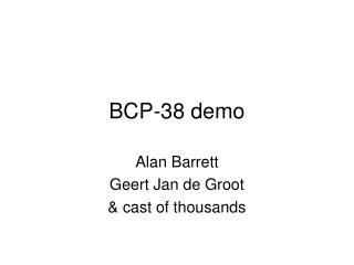 BCP-38 demo