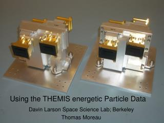 Using the THEMIS energetic Particle Data
