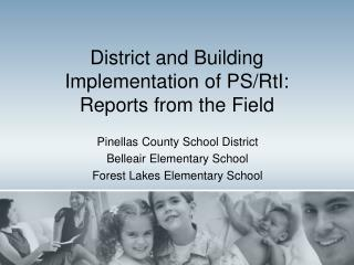 District and Building  Implementation of PS