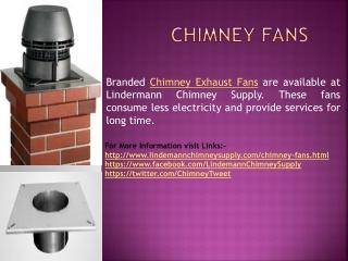 Chimney Fans