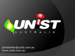 Unist Australia Pty Ltd. - Metal Cutting Solutions