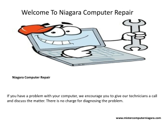 Laptop repair services in Niagara