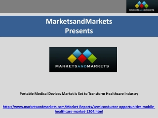 Portable Medical Devices Market