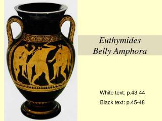 Euthymides Belly Amphora