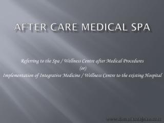 After Care Medical Spa