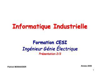 Informatique Industrielle