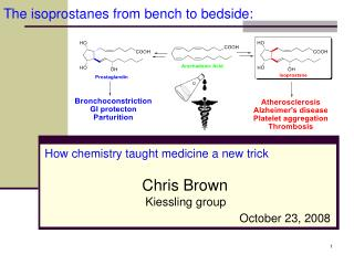 The isoprostanes from bench to bedside:
