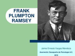 FRANK PLUMPTON    RAMSEY