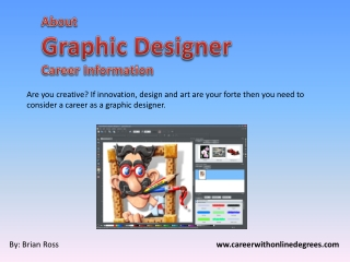 About graphic designer career information