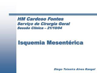 HM Cardoso Fontes Servi o de Cirurgia Geral Sess o Cl nica   21