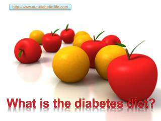 what is the diabetes diet?
