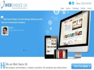 WebDesignChoice UK: It Web design Company