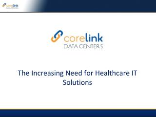 healthcare it solutions ensure uptime security and stability