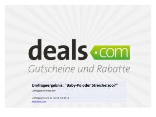 Deals.com Enthaarungs-Umfrage