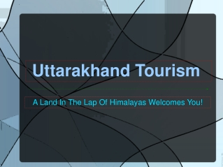 Uttarakhand Attractions