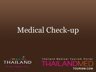 thailand medical tourism_medical check up