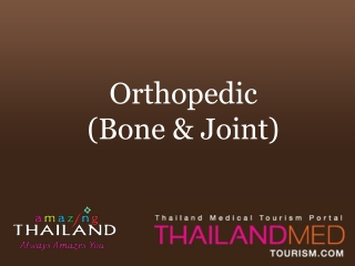 thailand medical tourism_orthopedic