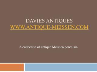 Meissen Porcelain from Antique-Meissen