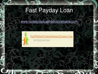 Us Fast Cash Payday Loan