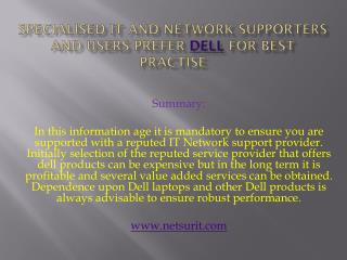 specialised dell, dell supplier, dell laptops