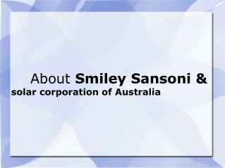 Smiley Sansoni