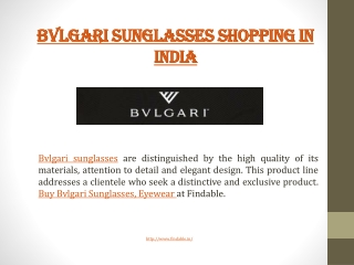 Bvlgari stores in India near you to shop sunglasses