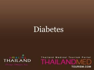 thailand medical tourism_diabetes