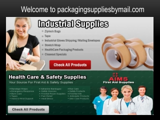 Quality Packaging Supplies
