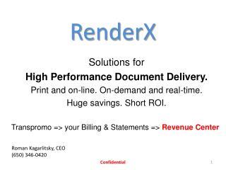RenderX