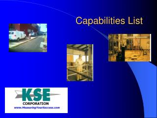 Capabilities List
