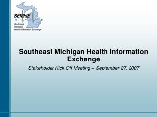 Southeast Michigan Health Information Exchange