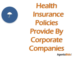 health insurance provide by corporate companies