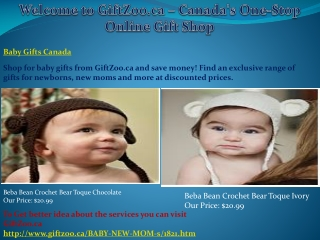 Baby Gifts Canada