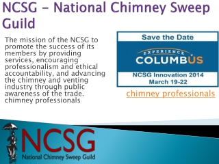 sweeping a chimney