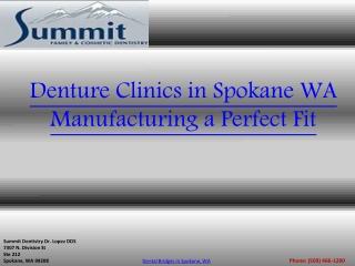 Denture Clinics in Spokane WA