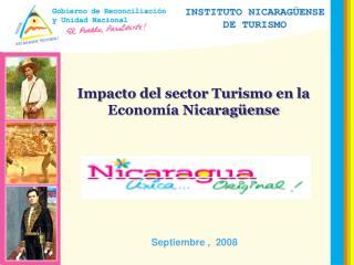 Impacto del sector Turismo en la Econom a Nicarag ense