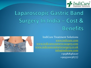 Laparoscopic Gastric Band Surgery In India - Cost