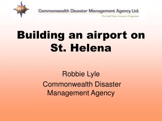 Building an airport on St. Helena
