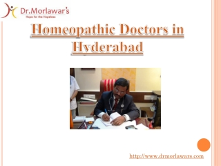 Homeopathic Doctors in Hyderabad-Dr Morlawars