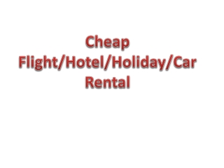 Cheap domestic and international holiday packages for Family