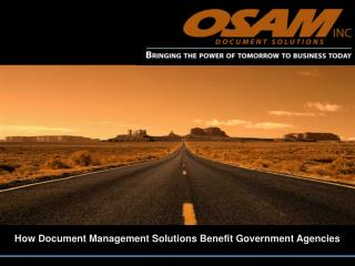 how document management solutions benefit government agencie