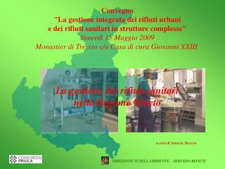 DIREZIONE TUTELA AMBIENTE -  SERVIZIO RIFIUTI