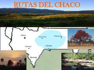 RUTAS DEL CHACO