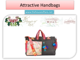 Attractive Handcrafted Bags India