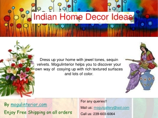 ethnic indian home decor